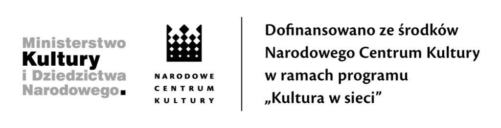 Obrazek posiada pusty atrybut alt; plik o nazwie 2020-NCK_dofinans_kulturawsieci-mono-1024x263.jpg